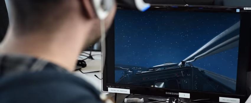 PSVR X-Wing tease