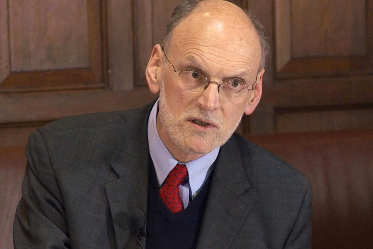 Oxford University professor of theology Nigel Biggar.