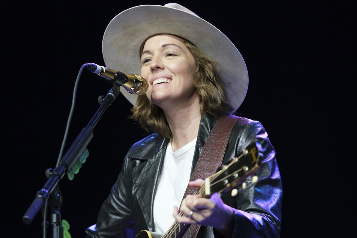 Brandi Carlile happily putting her stamp on country music