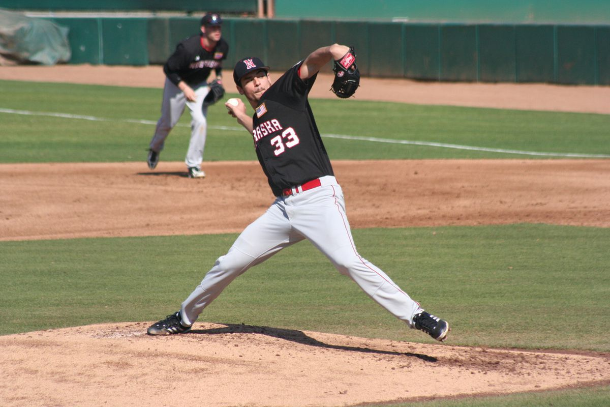 Transfer Christian DeLeon has been one of Nebraska's early contributors on the mound