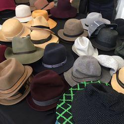 Hats, $50