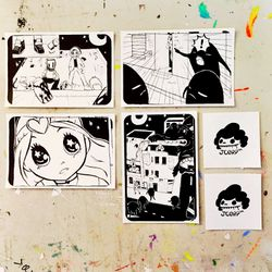 JCorp Super Girl Bandit sticker pack, $5
