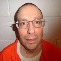 Mark Hofmann, an expert forger convicted of murdering two people using bombs in 1985 in one of Utah's most notorious crimes, has been moved out of maximum security and into the prison facility at Gunnison. He's pictured here in 2012.