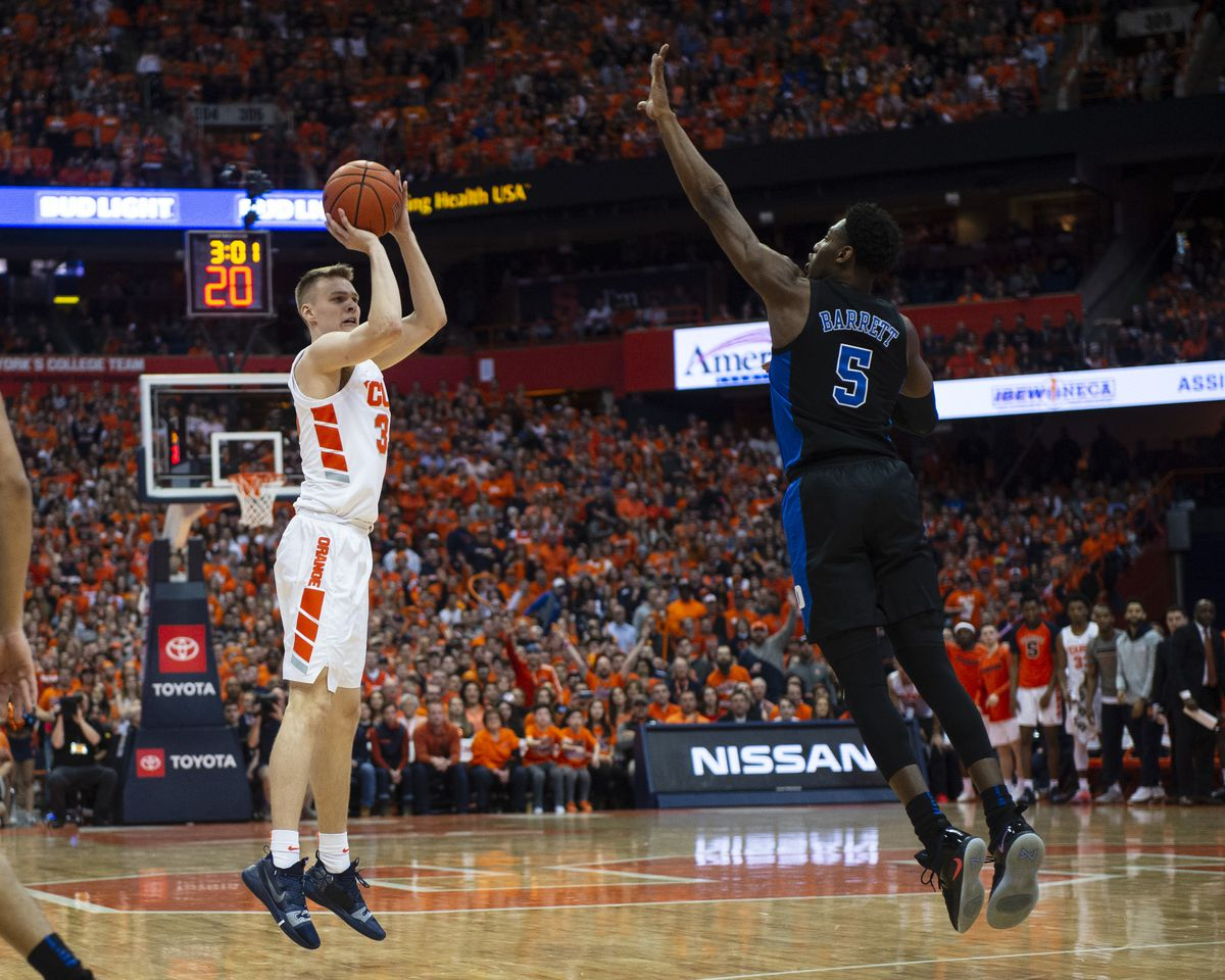 COLLEGE BASKETBALL: FEB 23 Duke at Syracuse