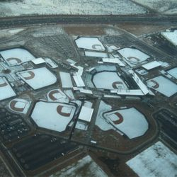 Looks pretty cold for Baseball, check out the Talking Stick D-Backs facility