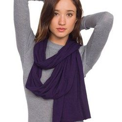 """<a href=""""http://store.americanapparel.net/product/?productId=6445dl"""">Unisex sheer jersey scarf</a>"""