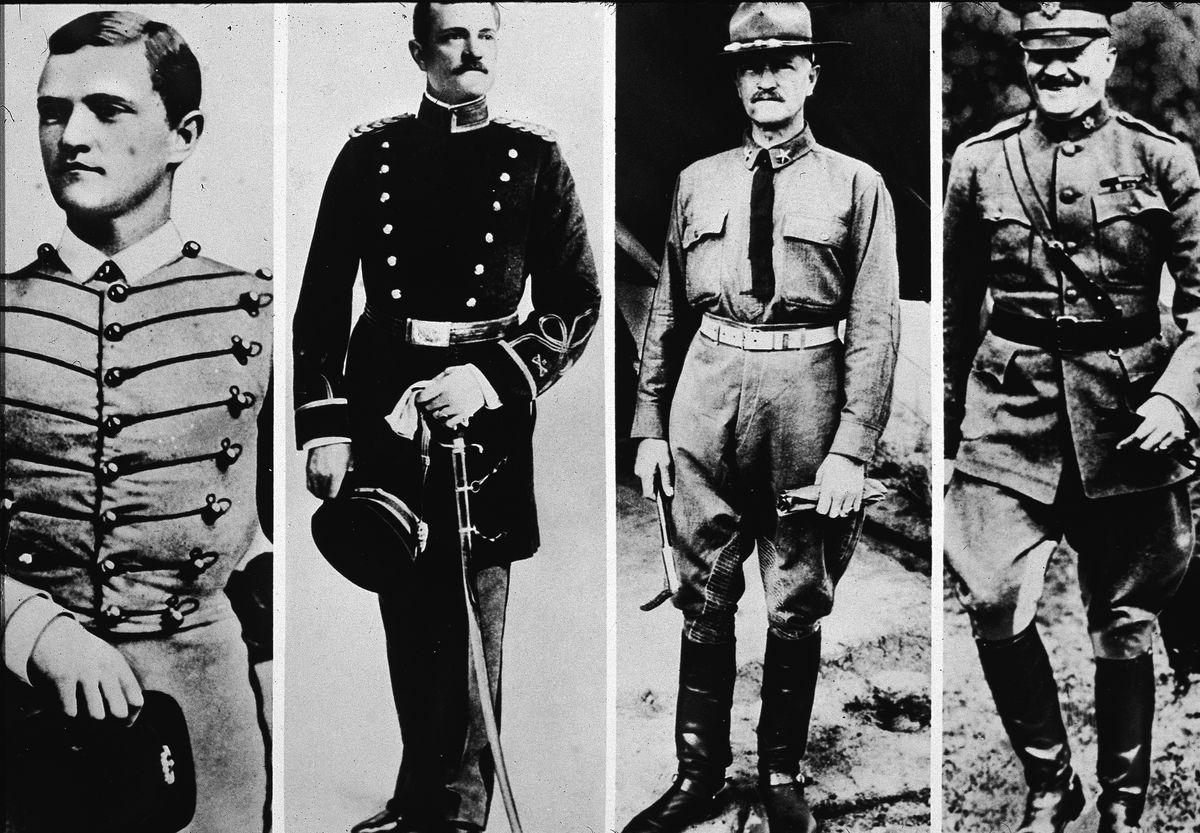 General Pershing's Career Path