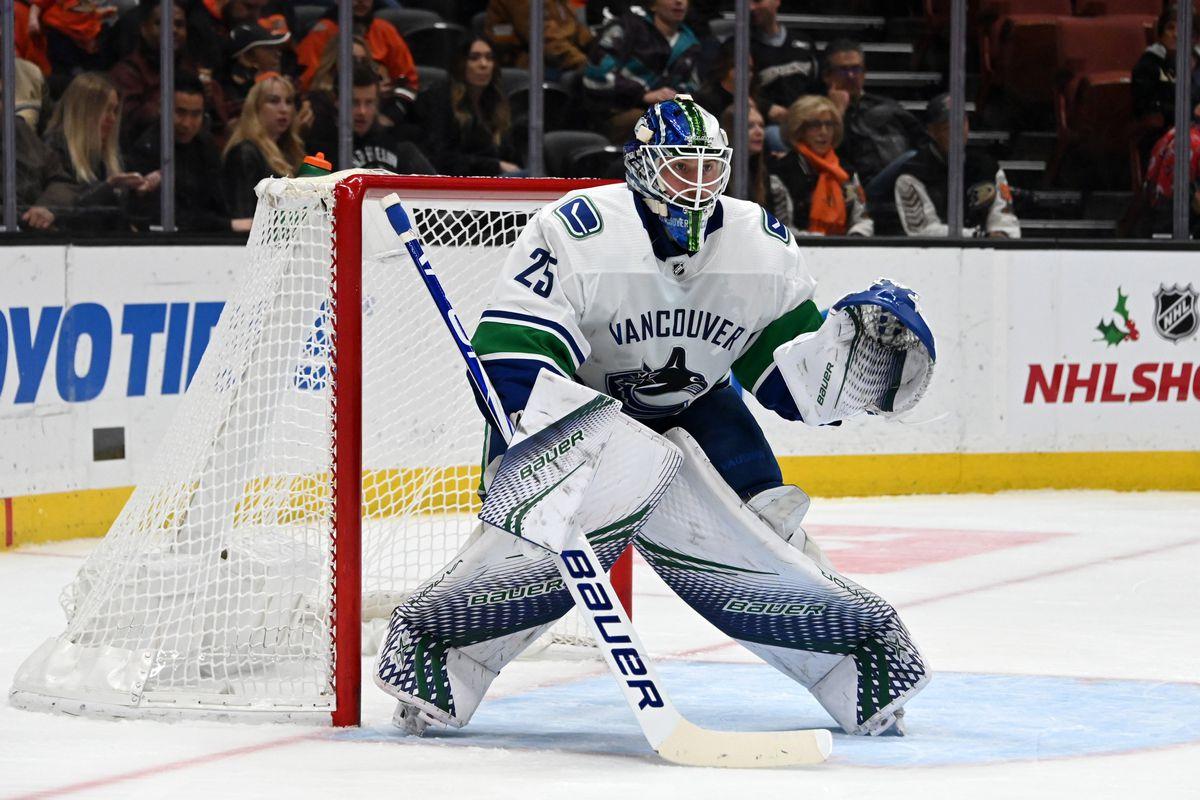 NHL: Vancouver Canucks at Anaheim Ducks
