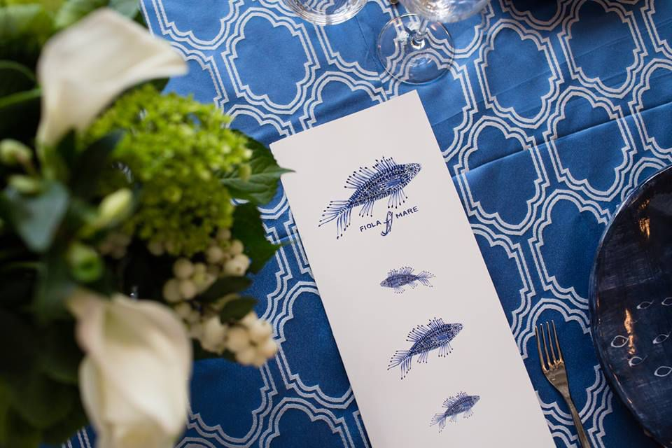 Fiola Mare DC place setting