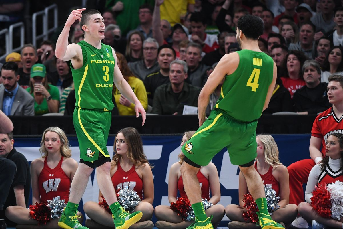 Just Released: Oregon Basketball PAC-12 Schedule