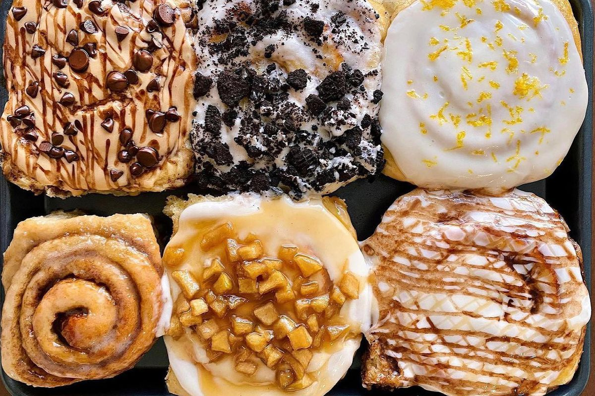 Sweet buns from Cranky Granny's Sweet Rolls