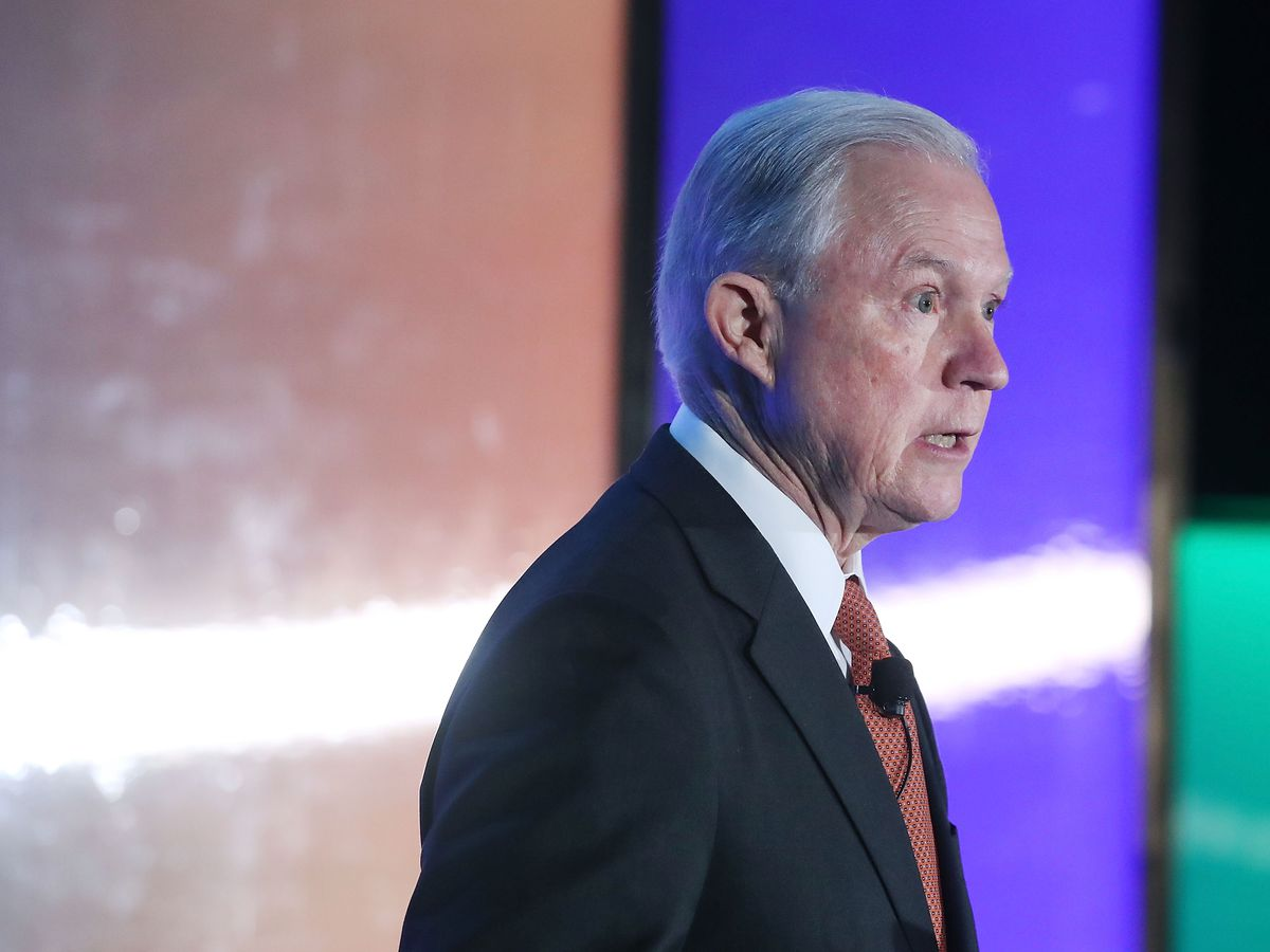 Attorney General Sessions Addresses Ethics And Compliance Initiative Conf.