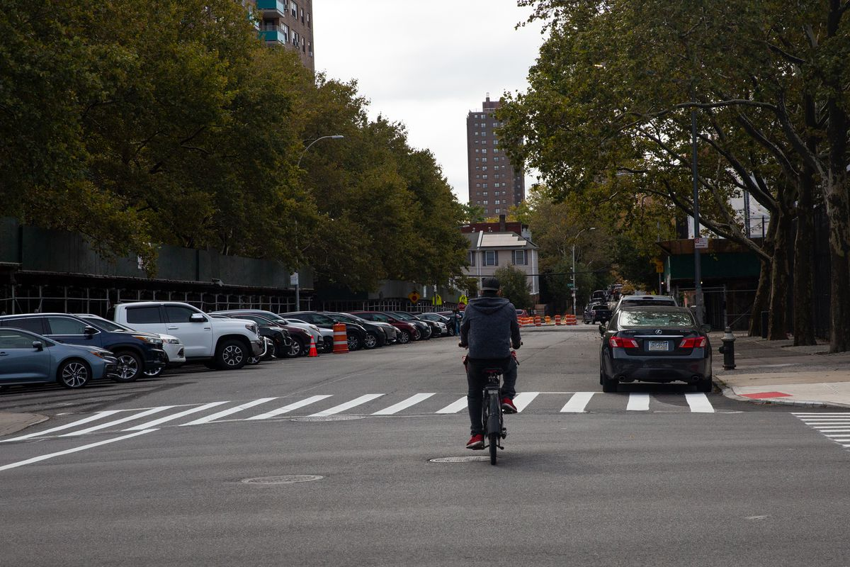 Part of Trinity Avenue in The Bronx had been blocked off to vehicle traffic, but only through Oct. 1.