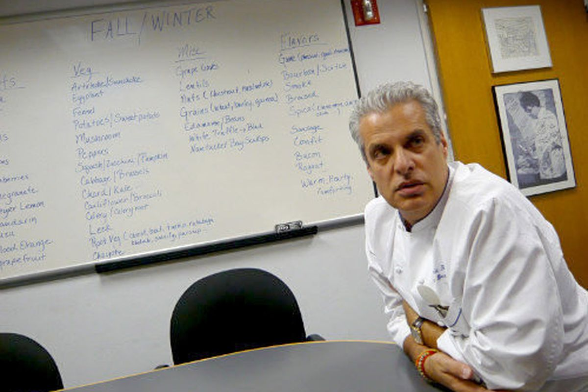 Eric Ripert at last year's Cayman Cookout.