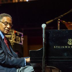 Ramsey Lewis performs during the Chicago Jazz Fest, Saturday, Sept. 1, 2018.   Tyler LaRiviere/Sun-Times
