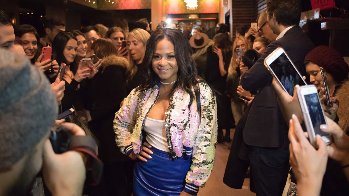 Christina Milian at an event for The Nylon Project.