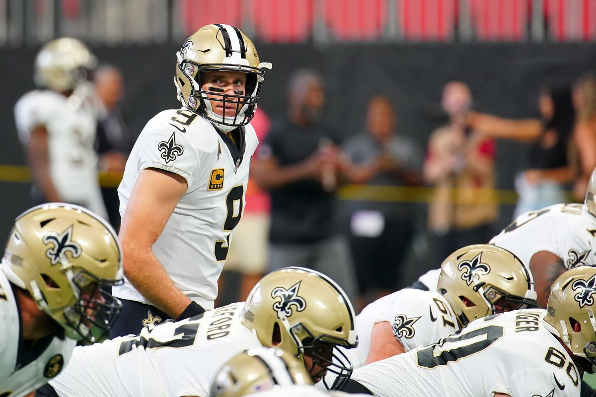 Drew Brees Was Very Drew Brees Throughout The Game