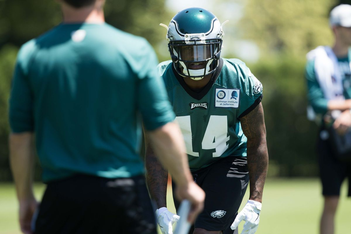 Bill Streicher-USA TODAY Sports. Today marked the 12th day of 2018 Philadelphia  Eagles training ... b8b80c7fb