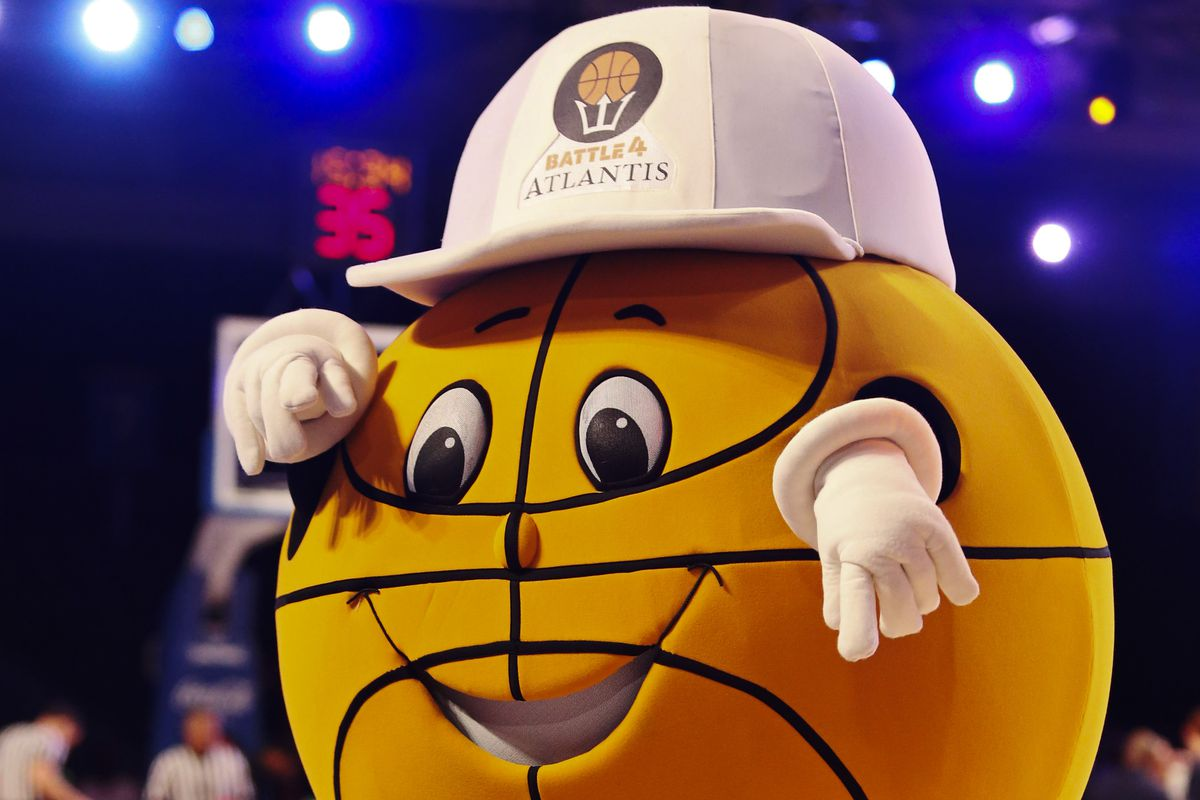 This guy's name is Bounce. Why does a basketball need hands?