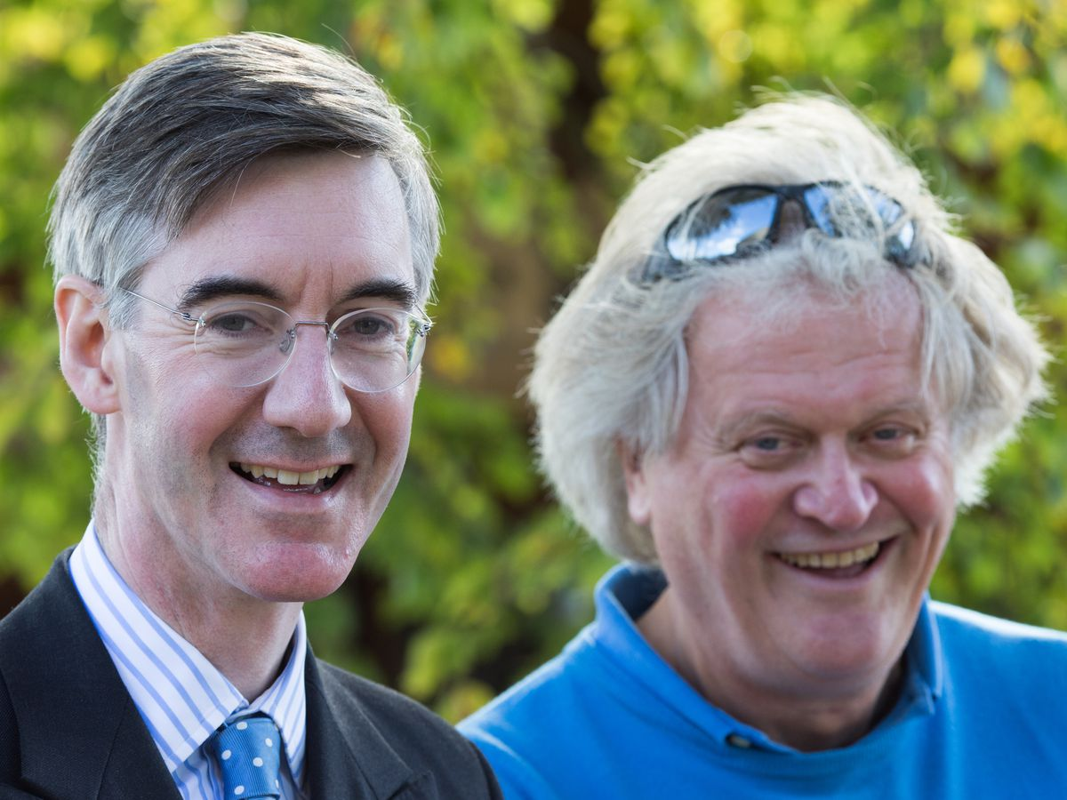 Jacob Rees-Mogg MP Joins Wetherspoons Owner At Somerset Pub Opening
