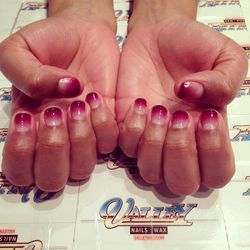 """Nothing gives me a pick-me-up like getting a manicure and the ladies at <a href=""""http://www.valleynyc.com/""""><b>Valley Nails</b></a> in Soho do a stellar job. Valley's awesome salon manager, Hannah, floats by to check on me. She's sporting an incredible vi"""