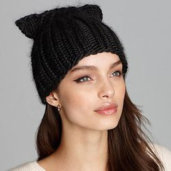 """<strong>Eugenia Kim</strong> Felix Knit Cap with Cat Ears, <a href=""""http://www1.bloomingdales.com/shop/product/eugenia-kim-felix-knit-cap-with-cat-ears?ID=783045&CategoryID=3376#fn=spp%3D7%26ppp%3D96%26sp%3D1%26rid%3D%26spc%3D12%26kws%3Dears"""">$160</a> at"""