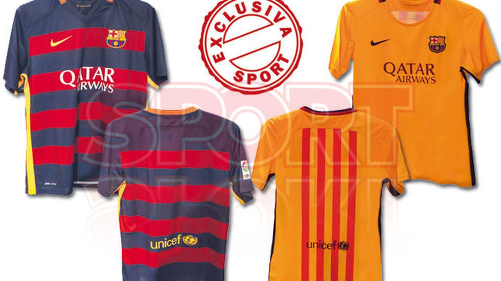 New Photos of The 2015-16 FC Barcelona Kits
