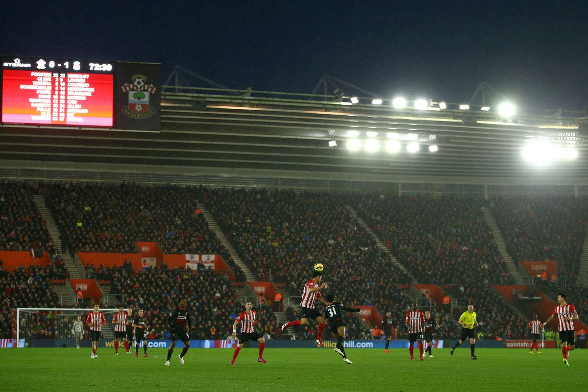 Saints have now failed to score in their last three games at St. Mary's