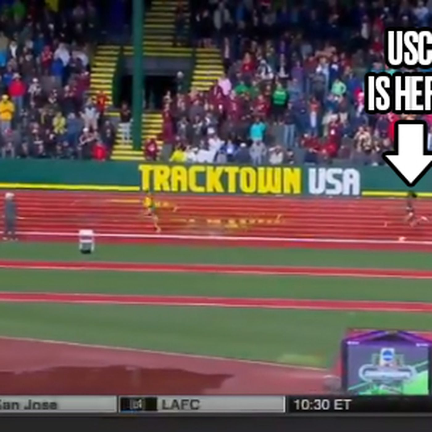 USC's 4x400 relay comeback is one of the best you'll ever see