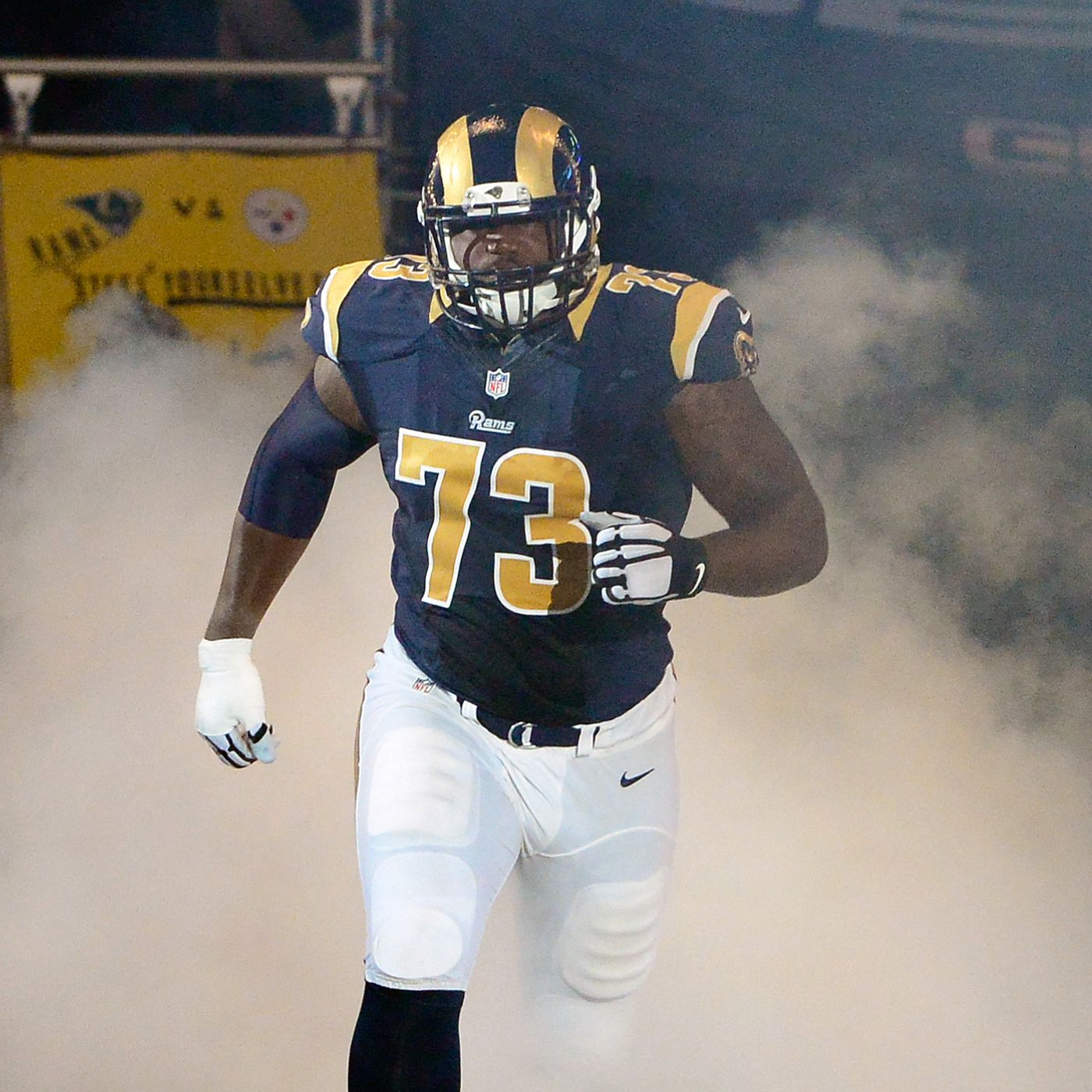 the latest 6f84a 24902 Greg Robinson immediately jumped on a red-eye flight to be ...