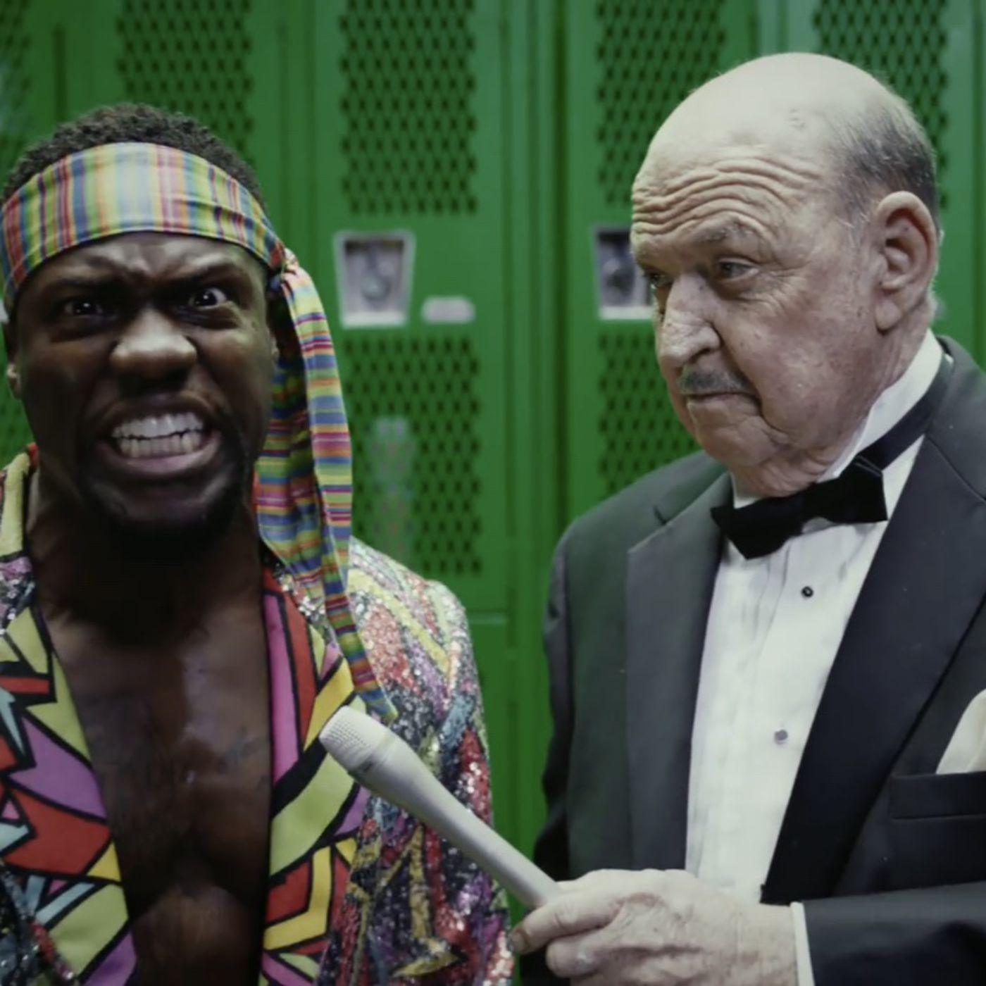 Kevin Hart Commercial >> Gene Okerlund Kevin Hart Star In A Pro Wrestling Themed Commercial