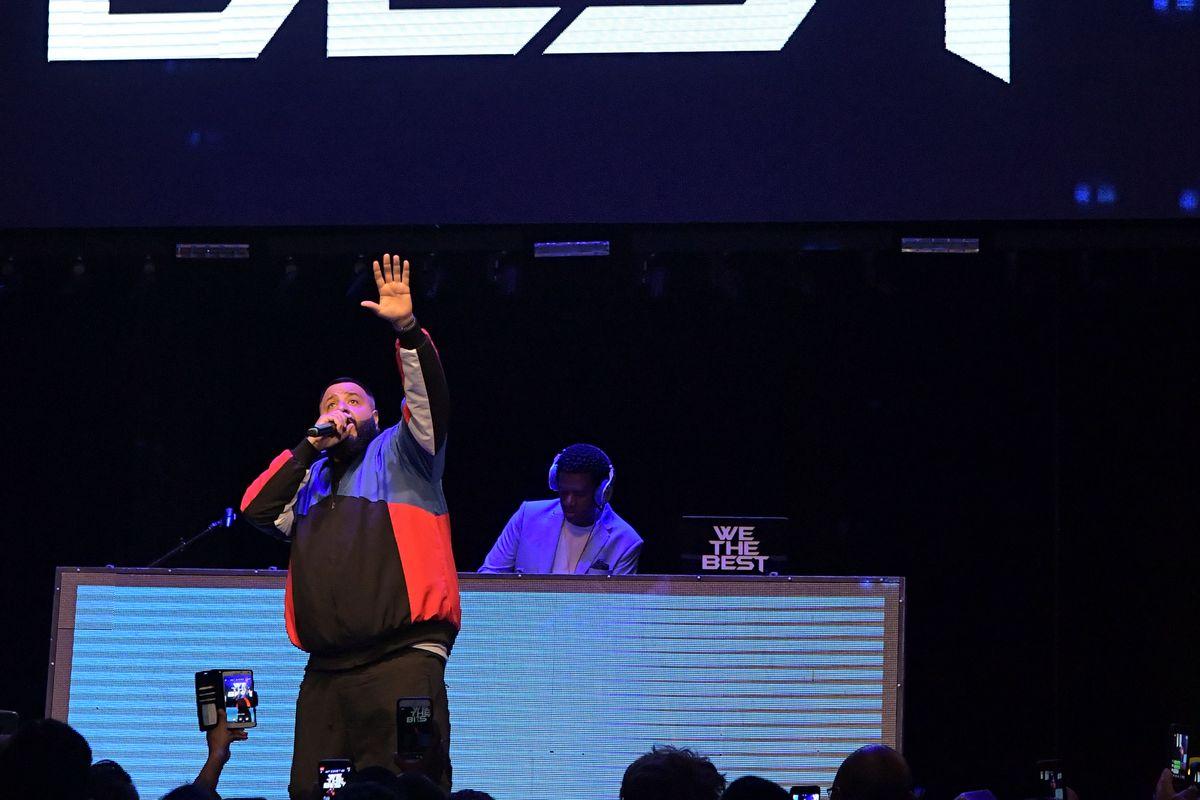 DJ Khaled onstage