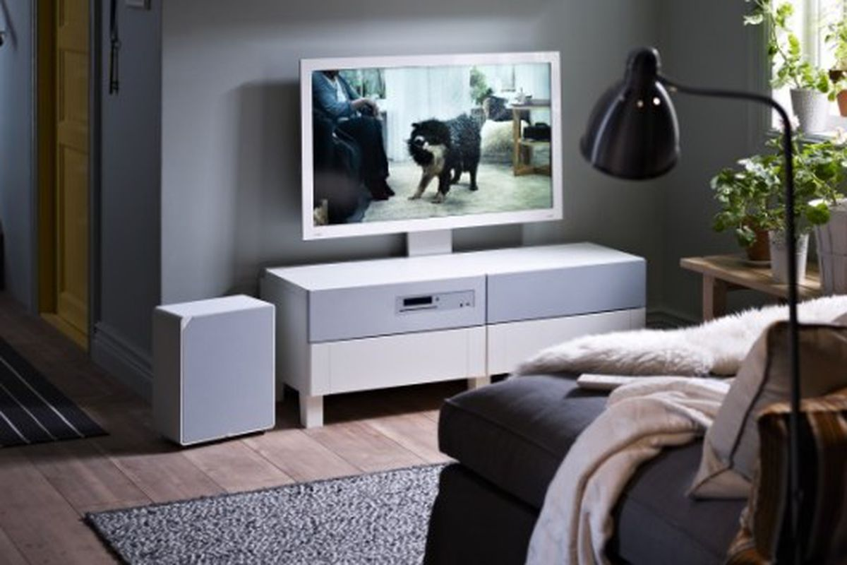 ikea 39 s uppleva tv and home theater goes on sale in select european stores the verge. Black Bedroom Furniture Sets. Home Design Ideas