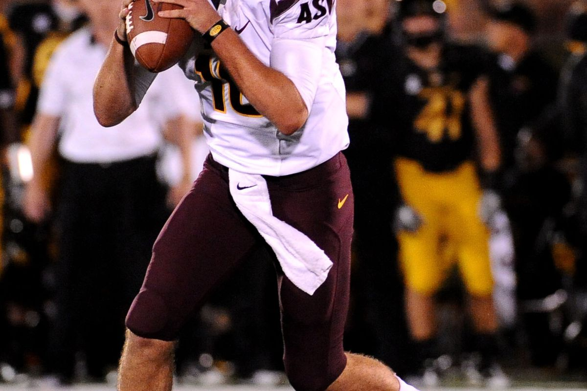 Taylor Kelly seems to be a star in the making (Photo Credit: Dak Dillon-US PRESSWIRE)