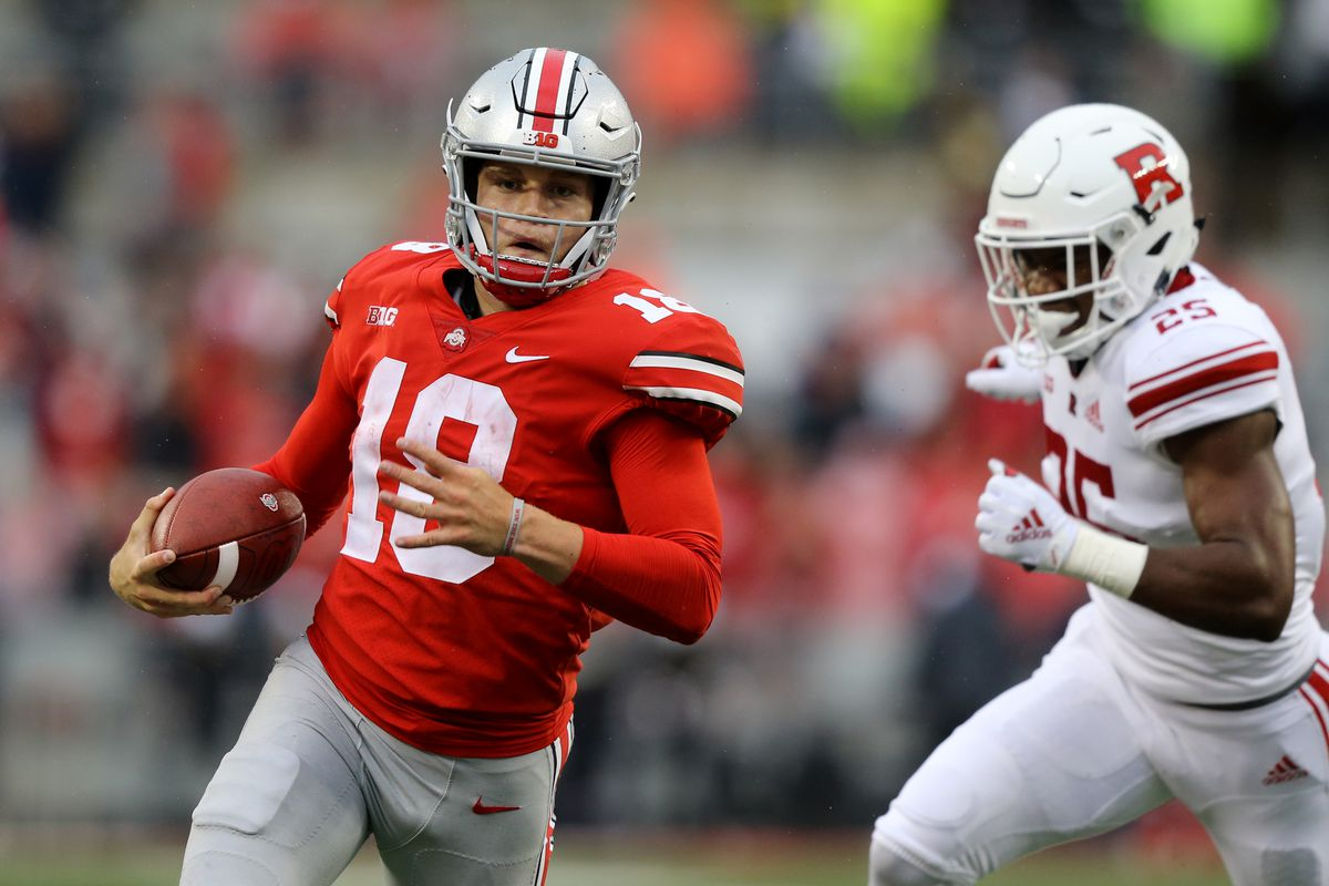 8bd292d2772 Ohio State's Tate Martell shares Big Ten Freshman of the Week - Land ...