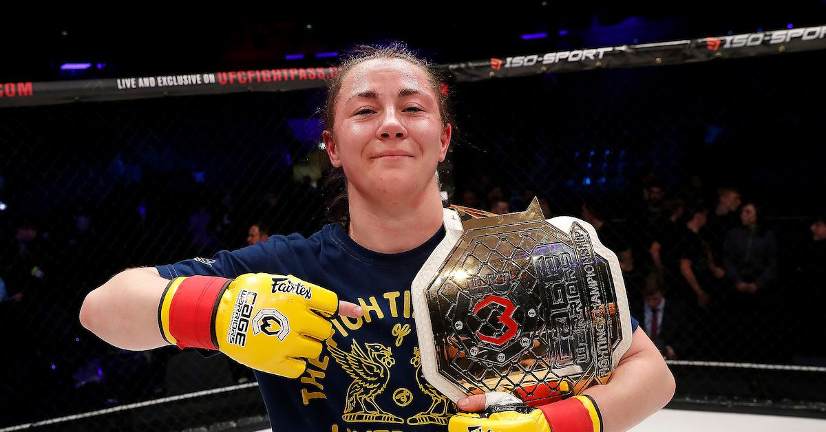 Molly McCann believes debut win sets up title date with Valentina Shevchenko in Moscow