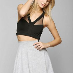 """<strong>8. Out From Under Mesh Bra Top, On sale for <a href=""""http://www.urbanoutfitters.com/urban/catalog/productdetail.jsp"""">$20</a> </strong> This sporty chic mesh bra top can be layered under a cami, tank, or dress for a cool peek-a-boo effect. Buy it"""