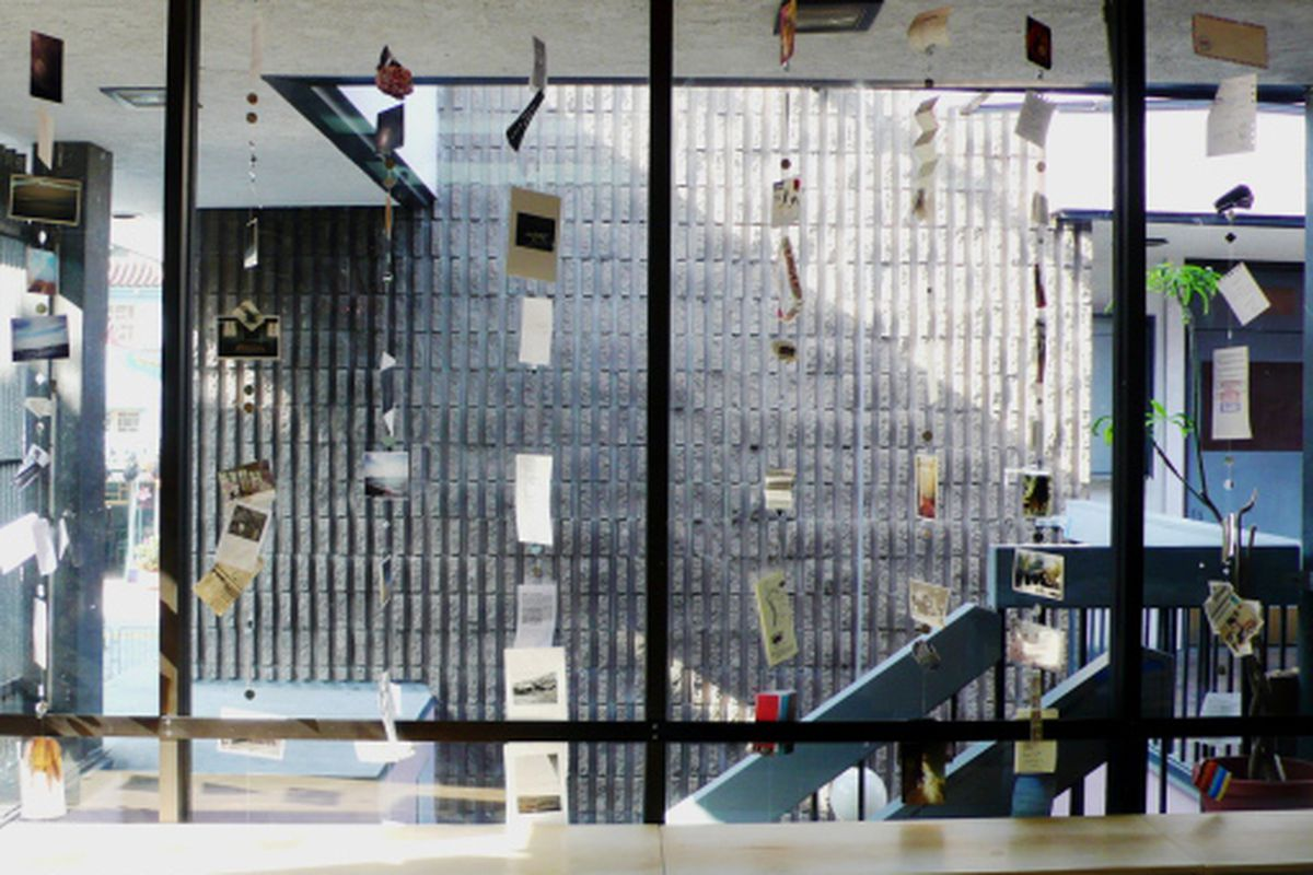 "Ooga Booga's new window installation by Becca Albee and Leticia El Halli Obeid. Image via <a href=""http://oogaboogastore.tumblr.com/post/129699801/new-window-installation-by-becca-albee-and-leticia-el"">Ooga Booga</a>"