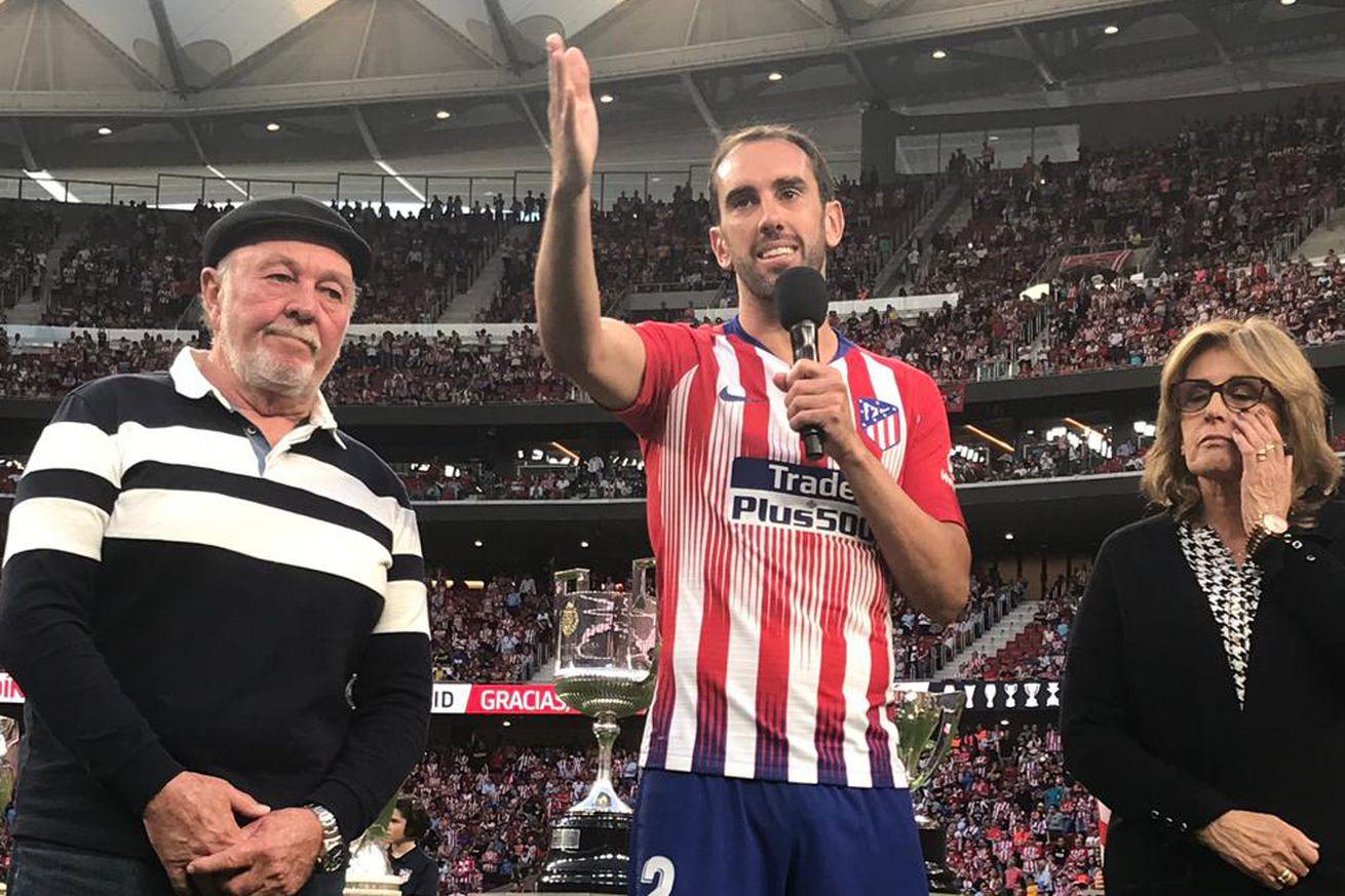 Atlético Madrid 1-1 Sevilla: Godín waves goodbye to the Wanda Metropolitano
