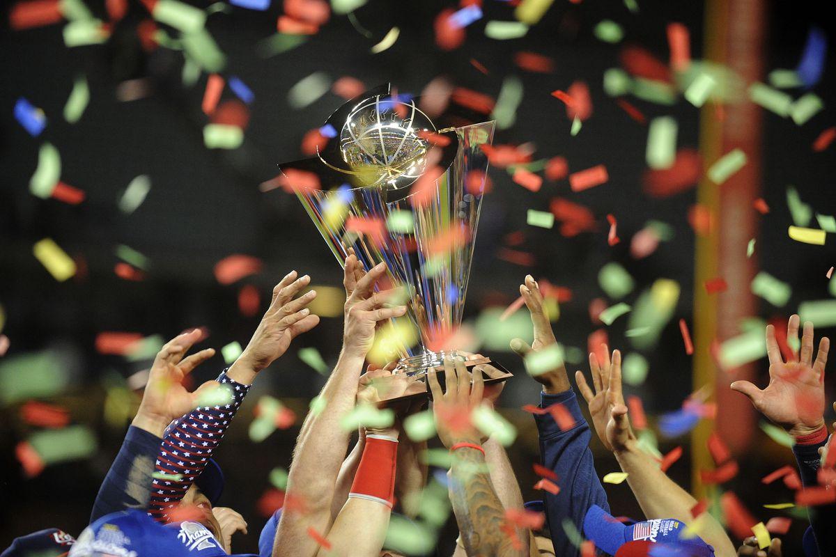 Baseball: World Baseball Classic-Final-USA at Puerto Rico