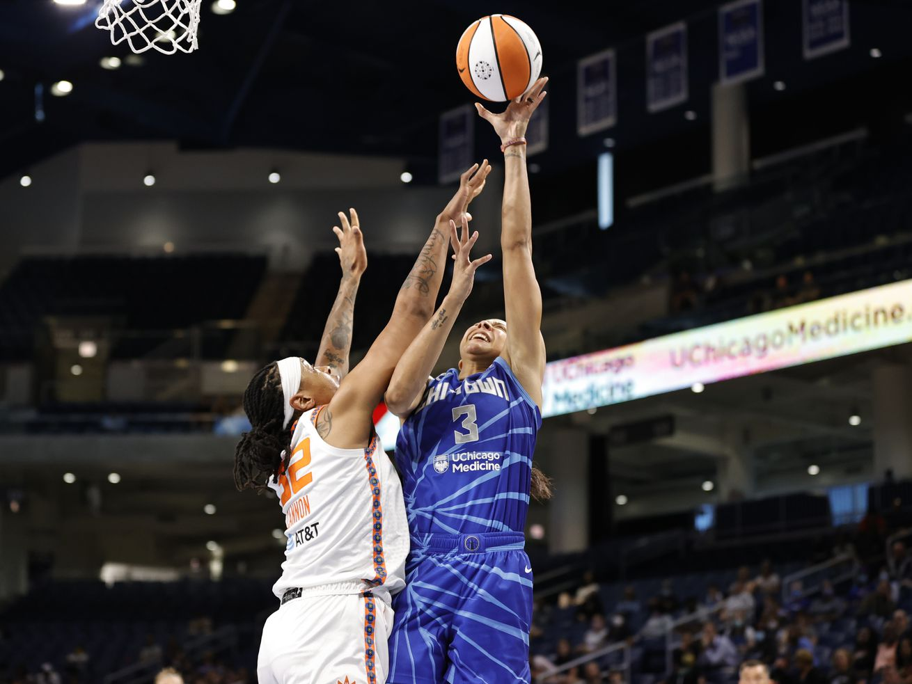 Sky get statement win beating Eastern Conference leading Sun 81-75