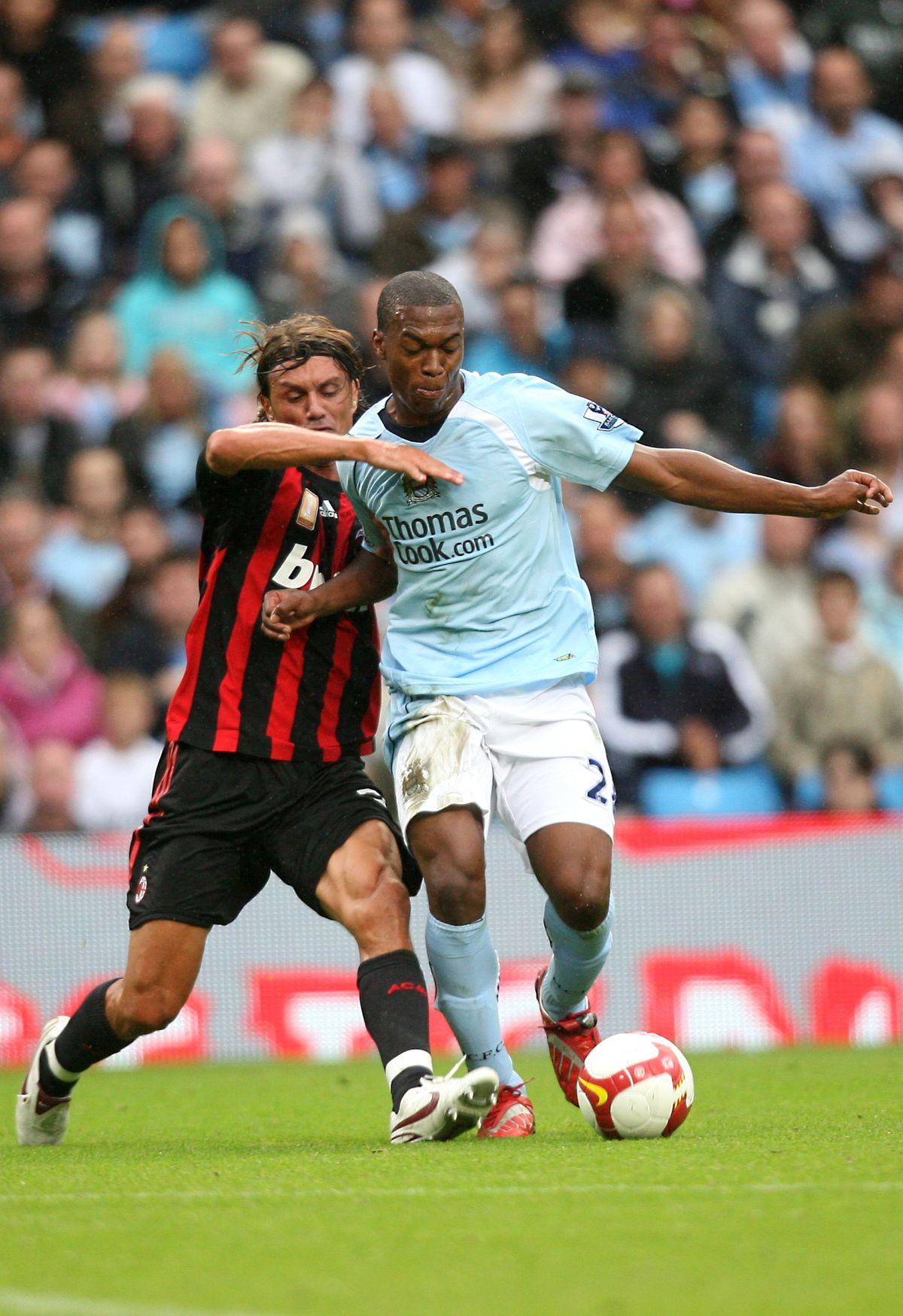 Soccer - Pre-Season Friendly - Manchester City v AC Milan - City of Manchester Stadium