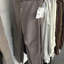 Andrew Marc leather pants, $299 (were $895)