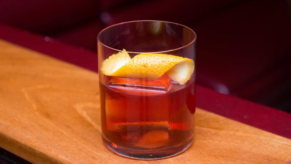 Pikesville Boulevardier at Slowly Shirley in New York.