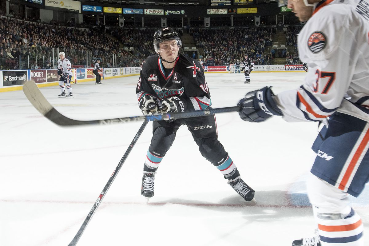 Rourke Cahrtier has returned form injury and the Kelowna Rockets are looking like the team to beat out west