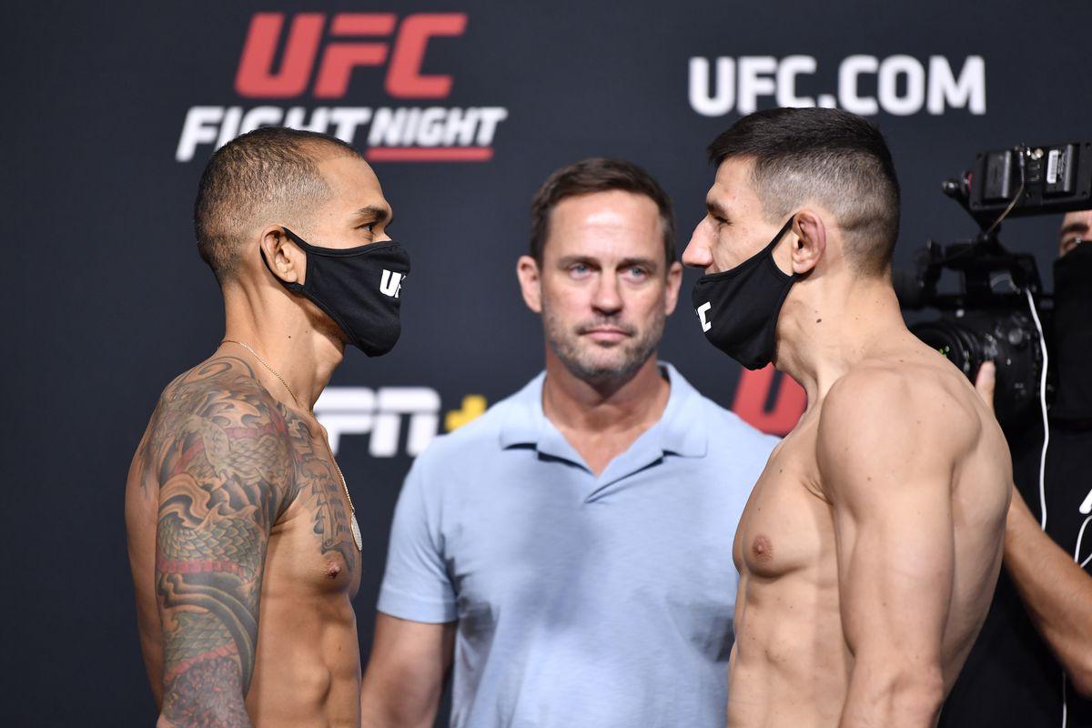 UFC Fight Night: Font v Garbrandt Weigh-in