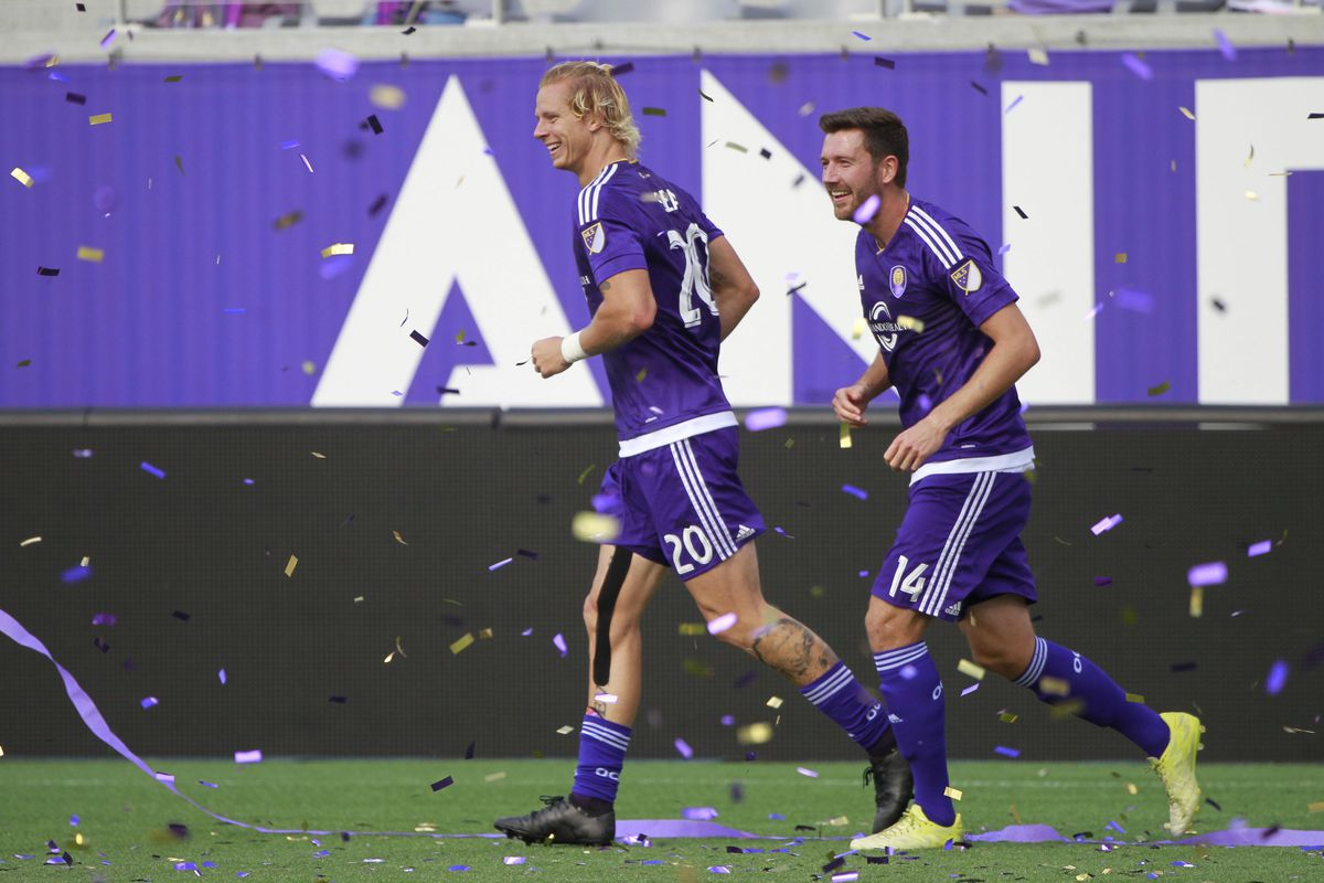 Brek Shea will have Luke Boden pushing him for minutes at left back this season in Orlando.