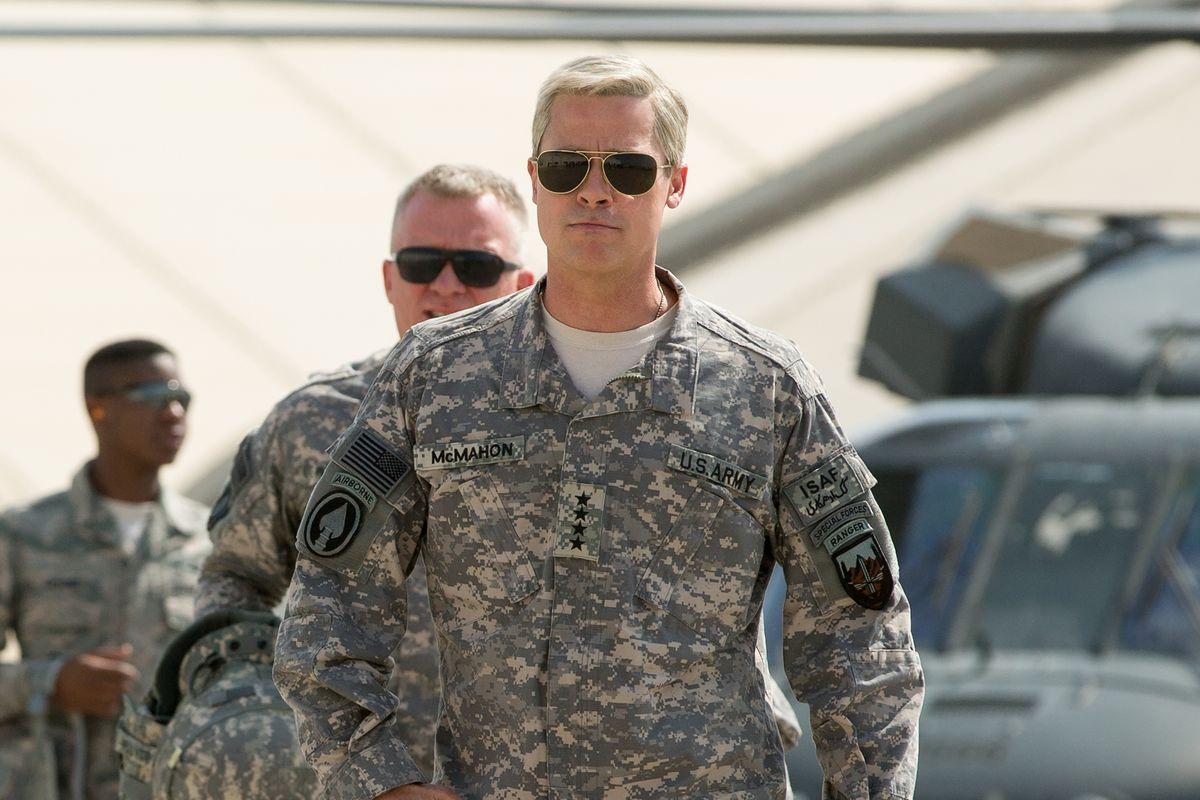 War Machine Brad Pitt