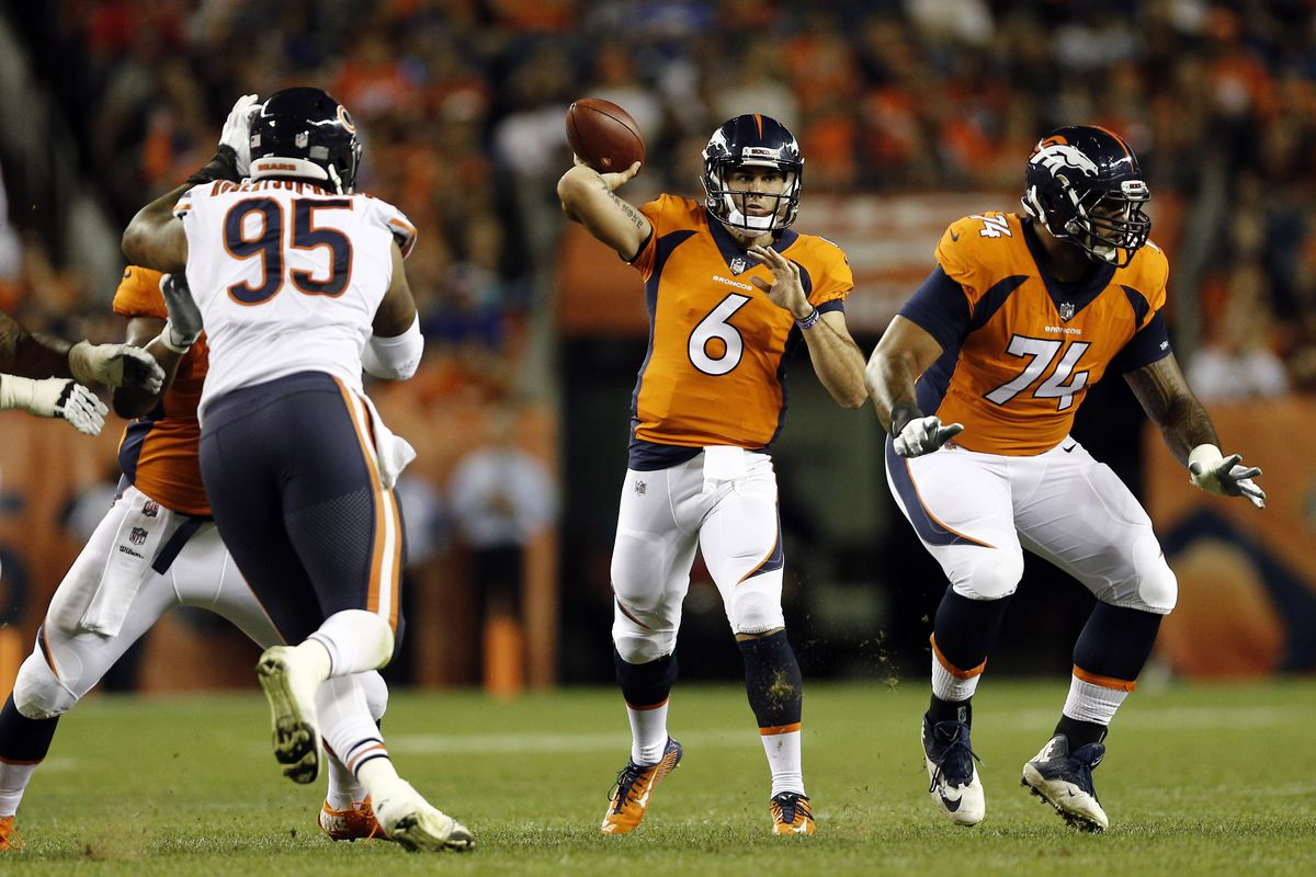 cozy fresh c8d2c 7b88e How Chad Kelly went from Mr. Irrelevant to unlikely Broncos ...
