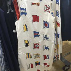 Cotton dress, $75